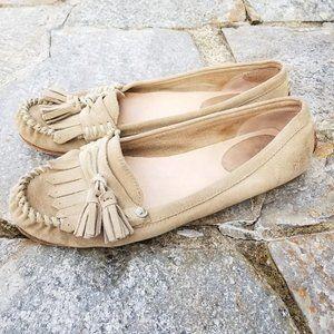 Frye Alex Tassel Moccasins Slip On Shoes Size 9.5